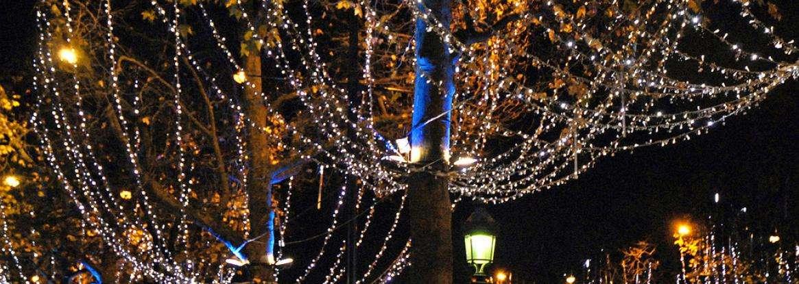 L'atmosphère magique des fêtes de fin d'année