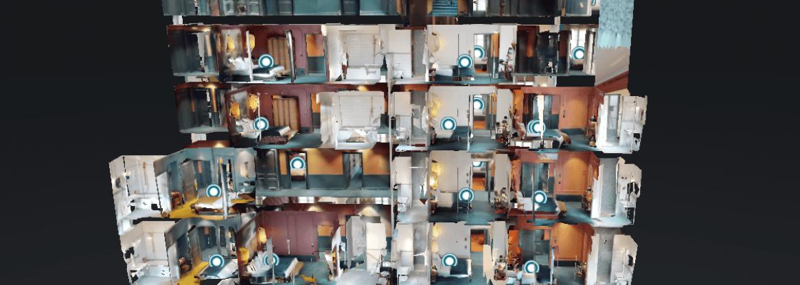 3D virtual tour at Hotel Monte Cristo